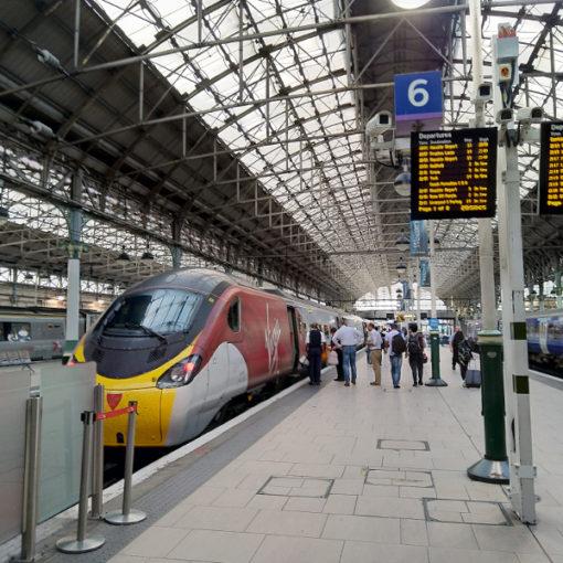 İngiltere İspanya Tren Yolculuğu