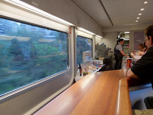 İspanya´ya tren yolculuğu